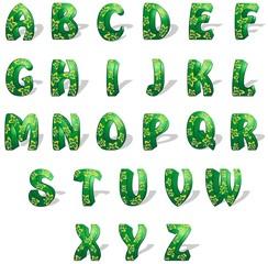 Alfabeto Esotico-Exotic Alphabet-Vector
