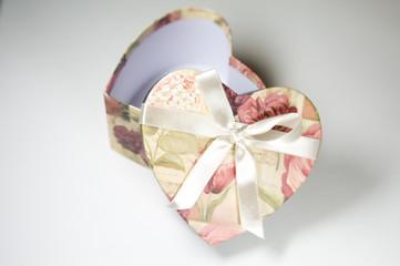 heart-shape box