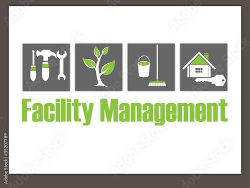 Hausmeisterservice  Facility Management Logo - Hausmeisterservice