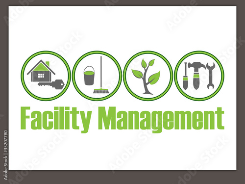 Hausmeisterservice  Facility Management Logo - Hausmeisterservice - Logo