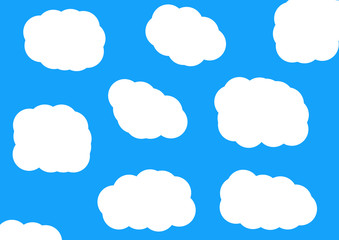 Printed roller blinds Heaven Cartoon Sky