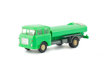 Toy fuel tanker truck