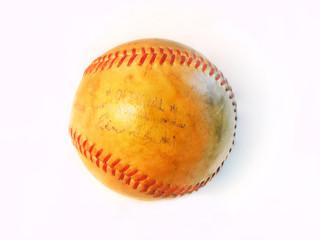 Signed vintage baseball