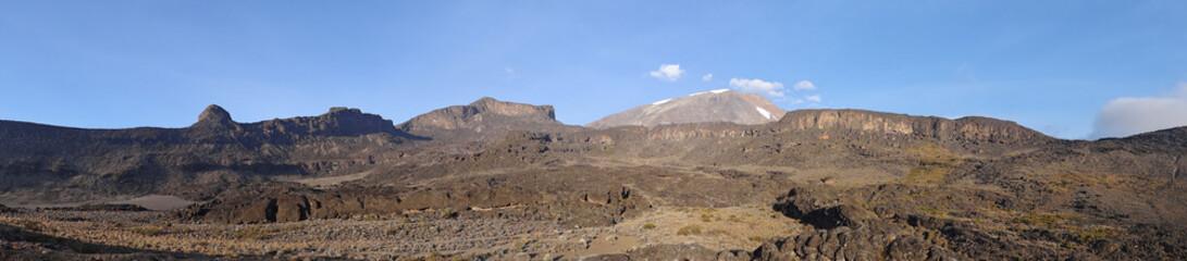 Poster Algérie Panorama sur le Kilimanjaro (depuis Moir Hut)