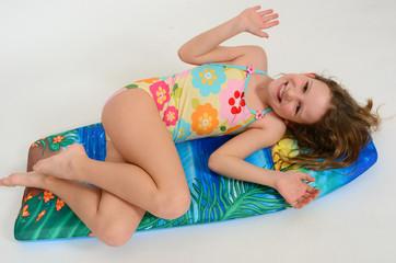 Mädchen Surf 007