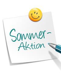 Zettel Sommeraktion