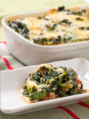 Spinach-Minced Meat bake II