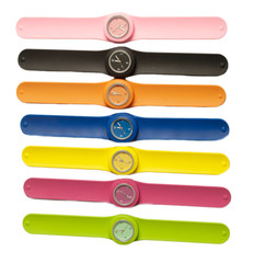 Colorful wrist watch