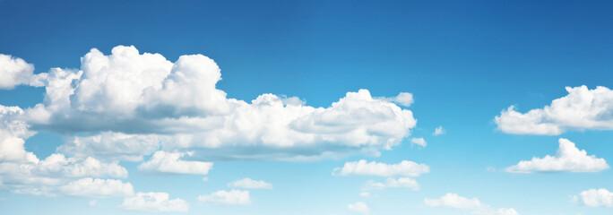 Door stickers Heaven blue sky and clouds