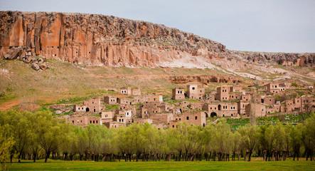 Abandoned village at Kizilkaya