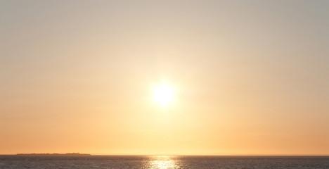 Gold Sun Landscape