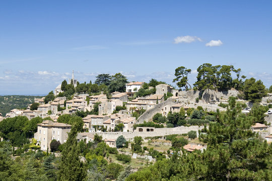 Bonnieux, french village in Provence.
