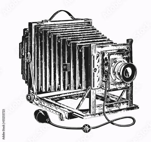 appareil photo ancien fichier vectoriel libre de droits sur la banque d 39 images. Black Bedroom Furniture Sets. Home Design Ideas