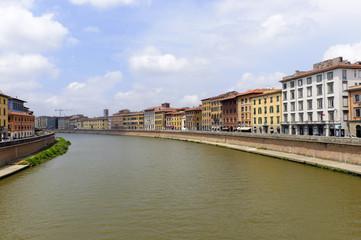 Pisa: the Arno river