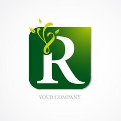 logo r, logotype, business logo
