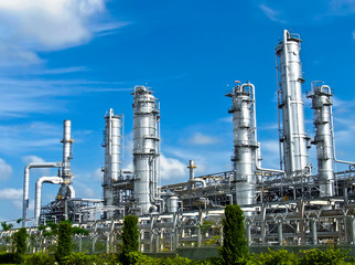Petrolium plant in Thailand