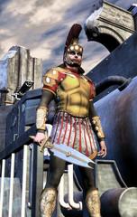 steampunk roman soldier