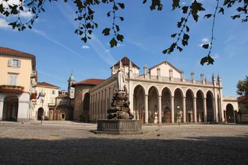 Fototapete - Duomo e battistero - Biella