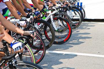 Spoed Foto op Canvas Fietsen ciclismo