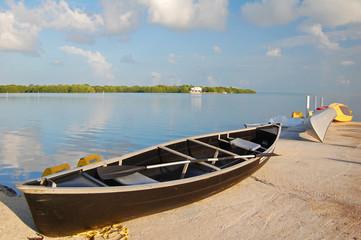 bay canoe