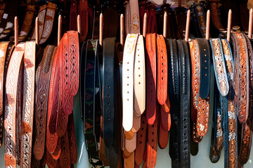 Rack of belts