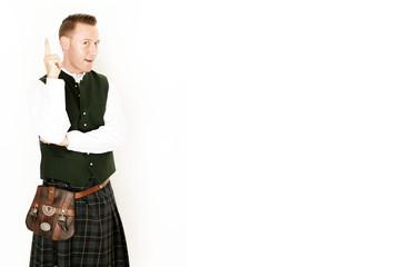 Schotte mit einer Idee