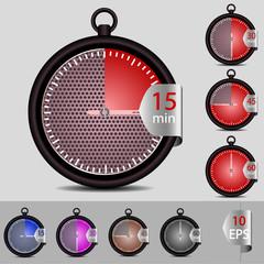 vector set of timer for your design