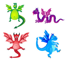 Funny dragons