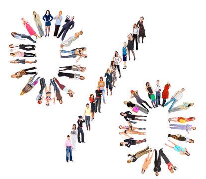 Diversity People Symbol