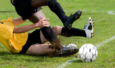 tacle au football