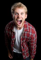 Angry Man Yelling