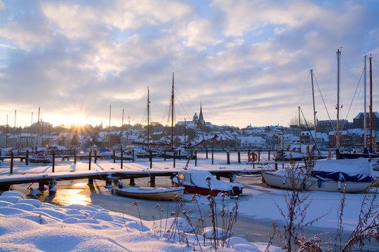 Flensburg im Winter