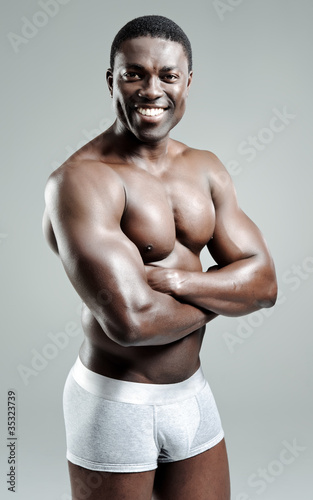 """""""Good looking muscular man"""" Stock photo and royalty-free ..."""