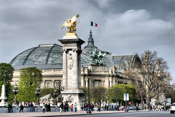 Parisian Grand Palais Fototapete