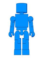 Block Figure Man