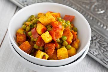 Indisches Gemüsegericht