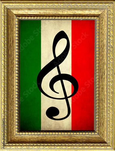 bandiera musica