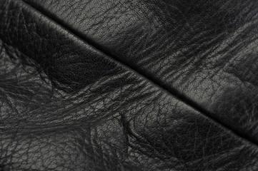 Ledernaht schwarz