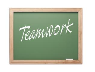 Teamwork Green Chalk Board Series