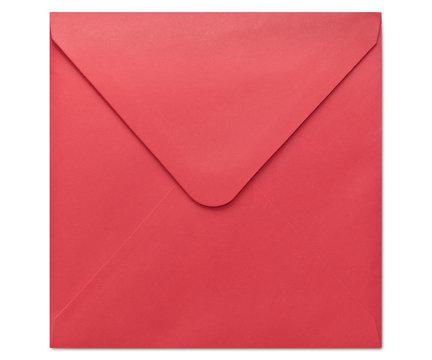Blank square envelope