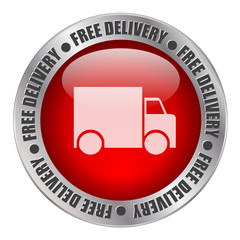 FREE DELIVERY Web Button (home express transport service)