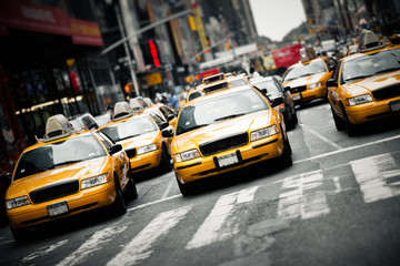 Poster New York TAXI New York taxis