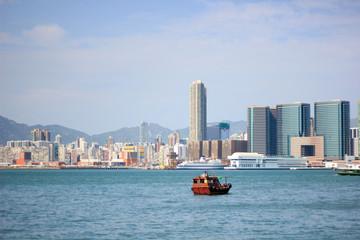 Ferry / Harbor / Hong Kong