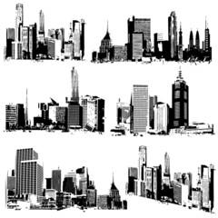 Grungy Cityscape
