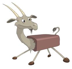 Cartoon Character Goat
