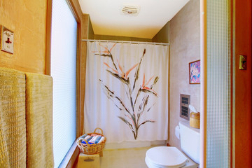 Old bathroom with asian style
