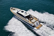 Italy, Tyrrhenian Sea, Tecnomar 26 luxury yacht