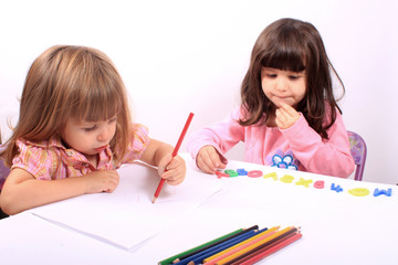Little girls educational development