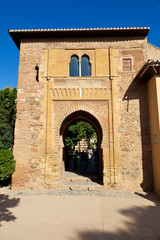 Wall Mural - Alhambra de Granada. Puerta del Vino (Wine door)