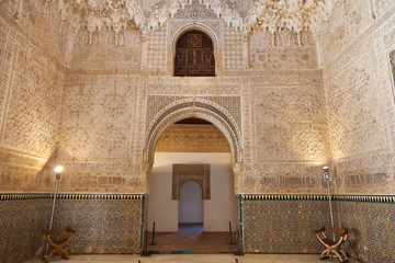 Wall Mural - Alhambra de Granada. The Hall of the Two Sisters